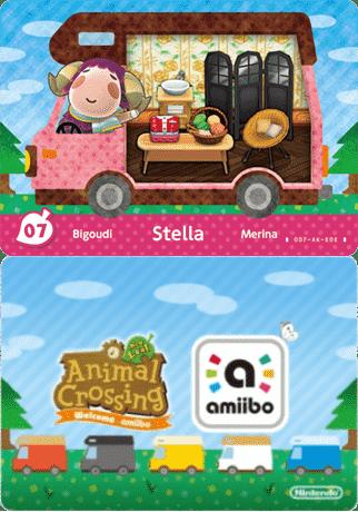 Stella Animal Crossing - amiibo Card