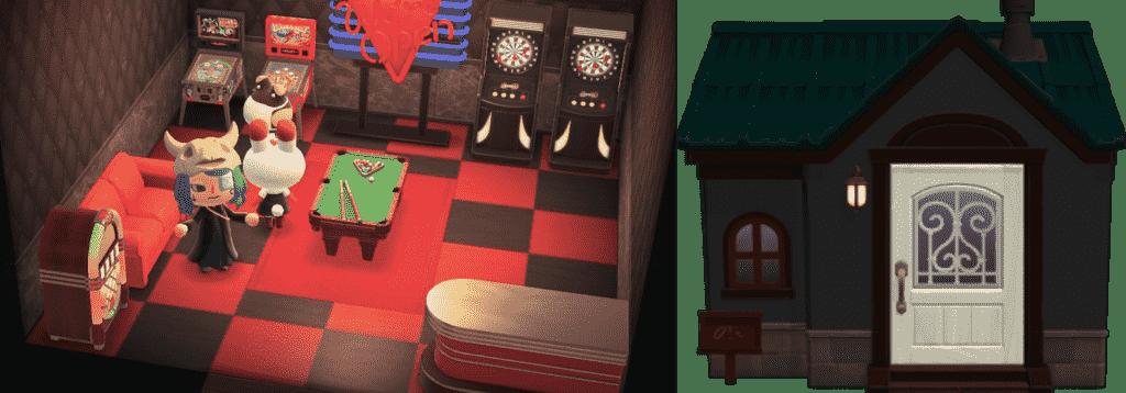 Tiffany Animal Crossing House New Horizons