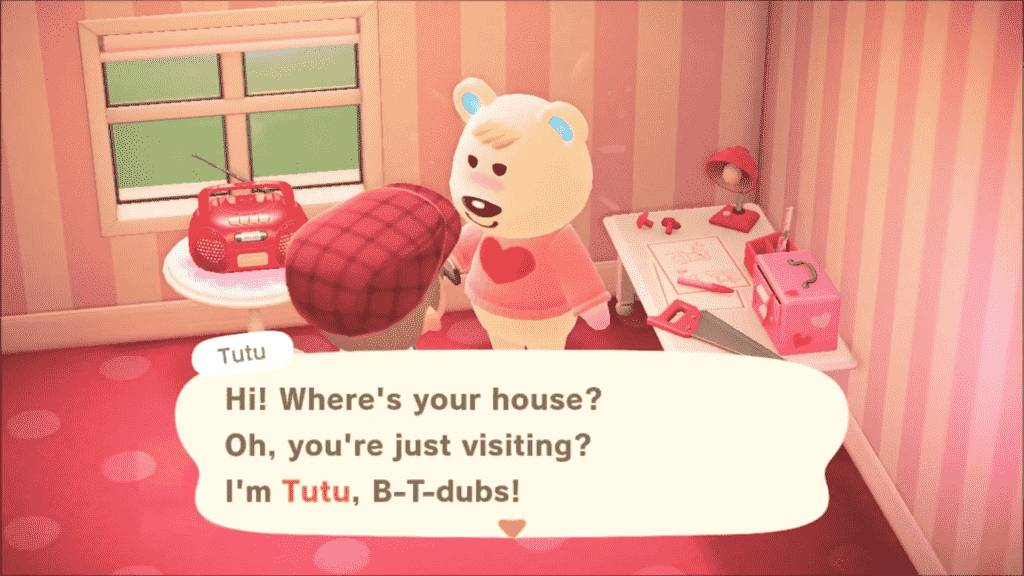 Tutu Animal Crossing - Personality