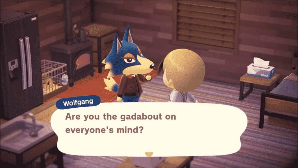Wolfgang Animal Crossing - Personality