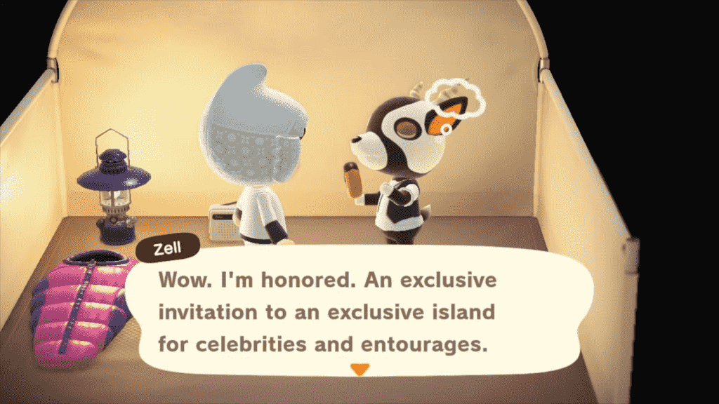 Zell Animal Crossing - Personality