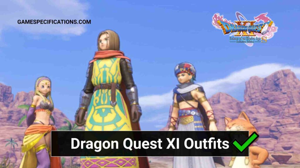 dragon quest xi outfits
