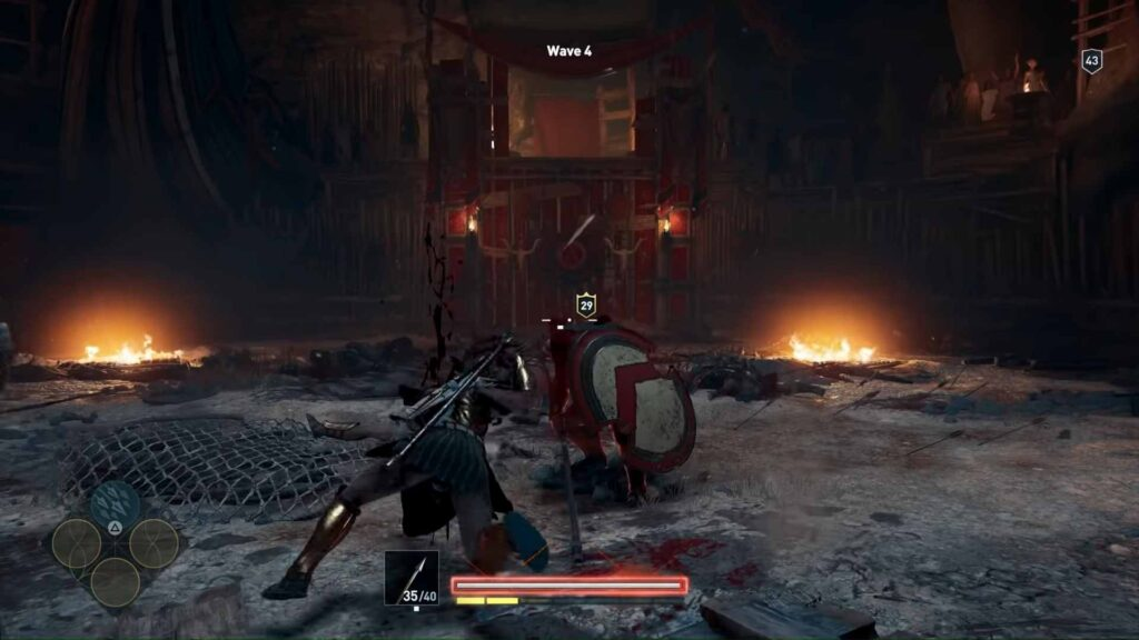 Assassin's Creed Odyssey Arena Fighting