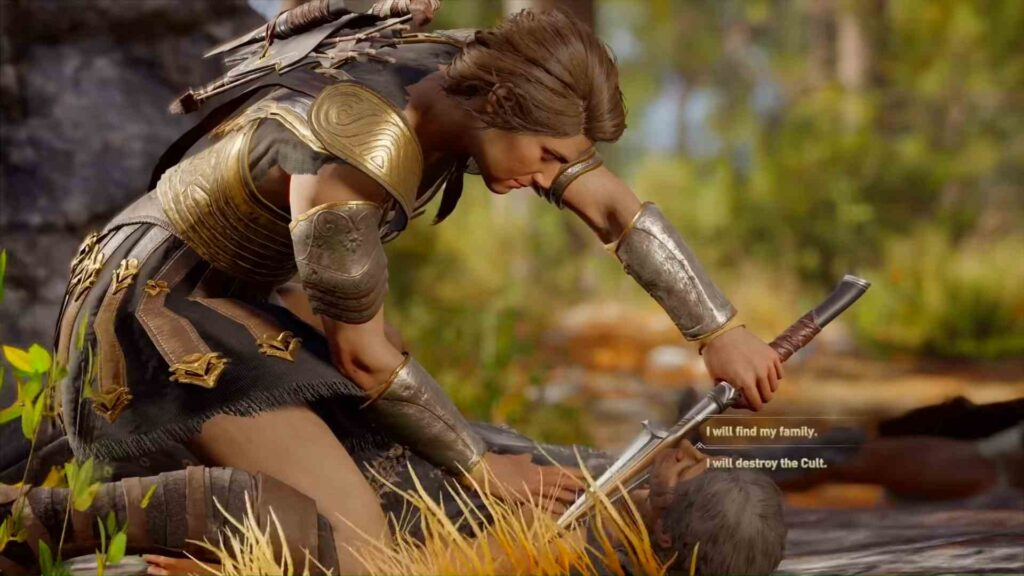 Assassin's Creed Odyssey Ashes To Ashes Choice
