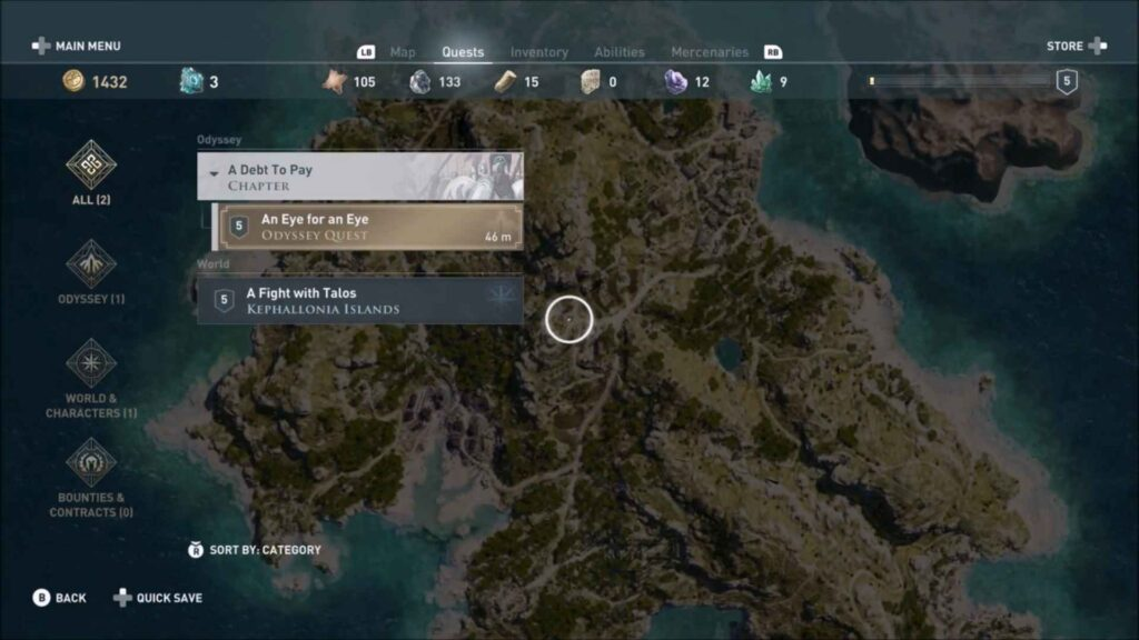 Assassin's Creed Odyssey Blood Fever Location