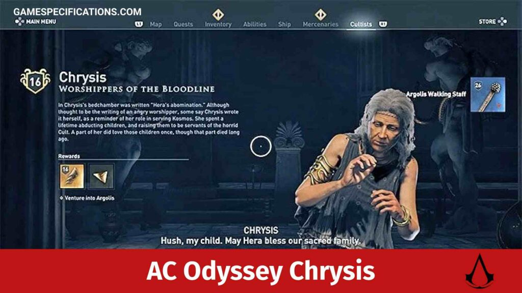 Assassin's Creed Odyssey Chrysis