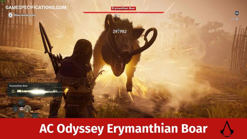 Assassin's Creed Odyssey Erymanthian Boar