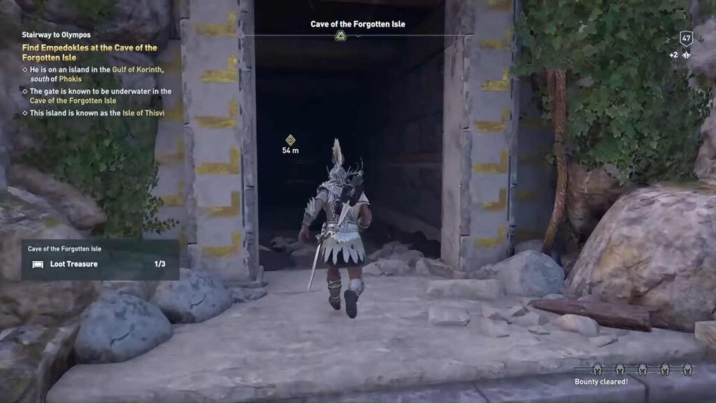 Assassin's Creed Odyssey Forgotten Isle Door