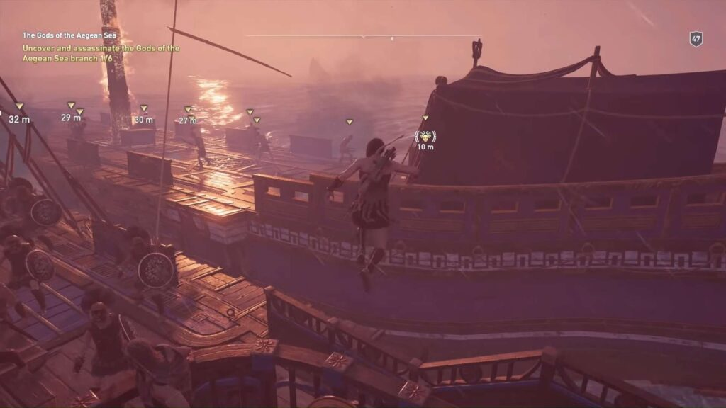 Assassin's Creed Odyssey Obsidian Islands Fightings