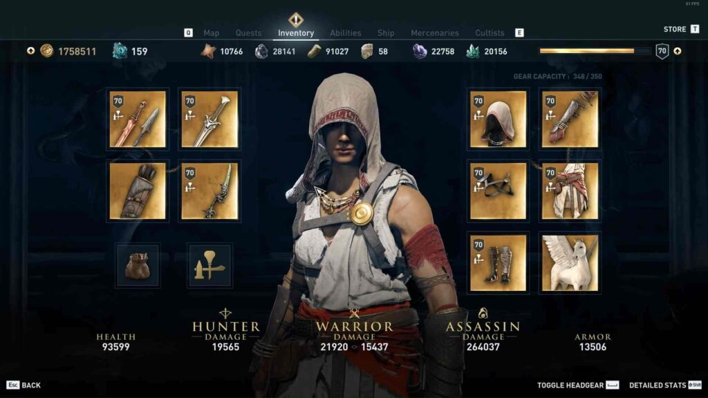 Assassin's Creed Odyssey Pilgrim Set