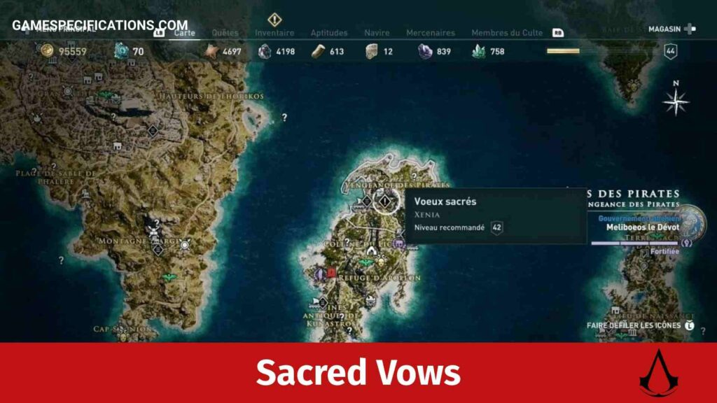 Assassin's Creed Odyssey Sacred Vows