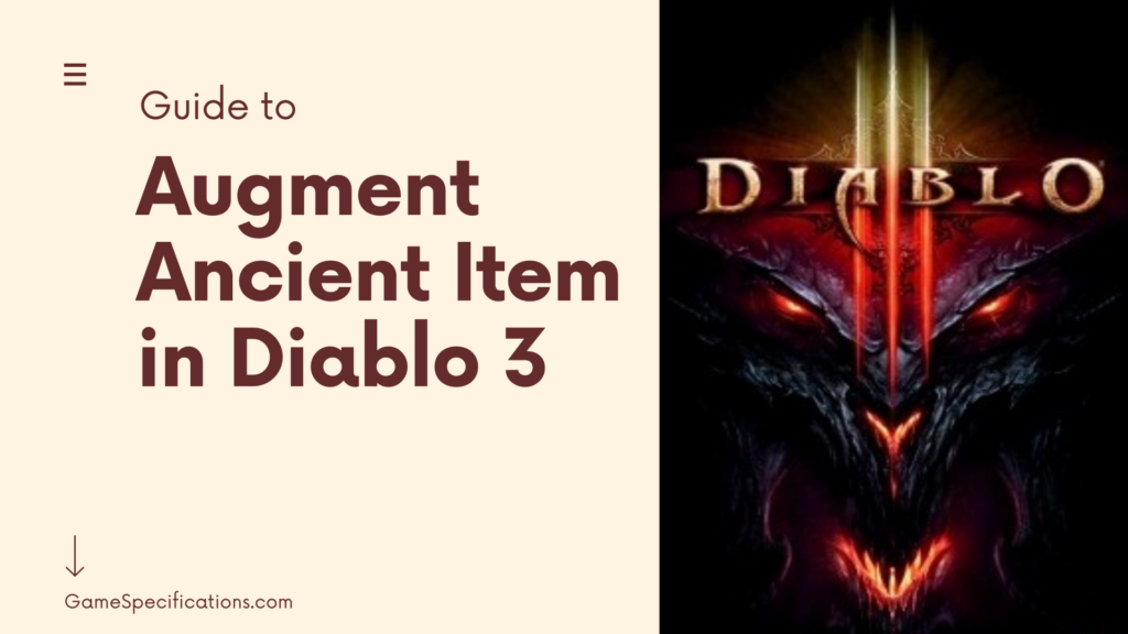 Augment Ancient Item
