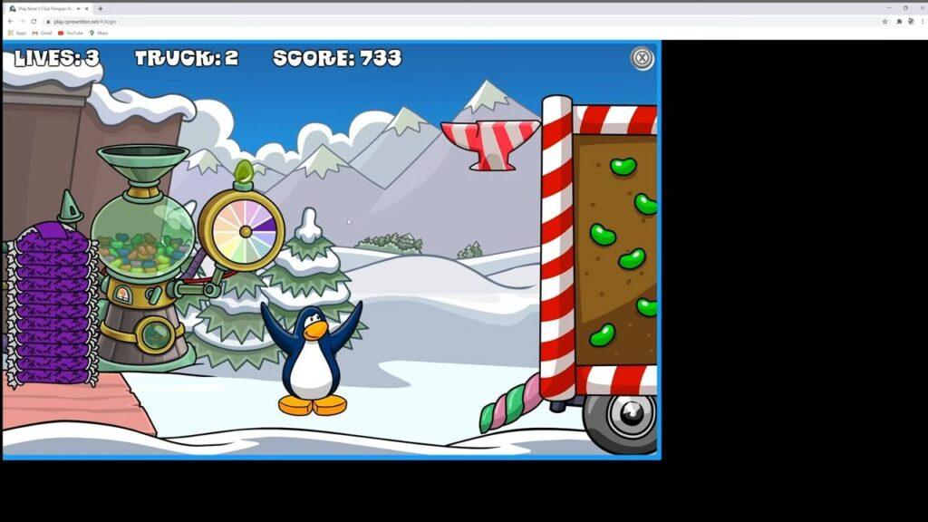 Club Penguin Rewritten Gameplay