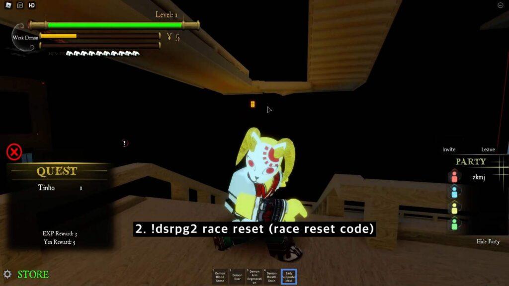Demon Slayer RPG 2 Codes List