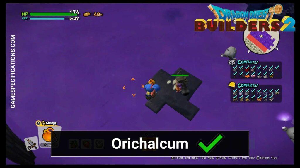 Dragon Quest Builder 2 Orichalcum