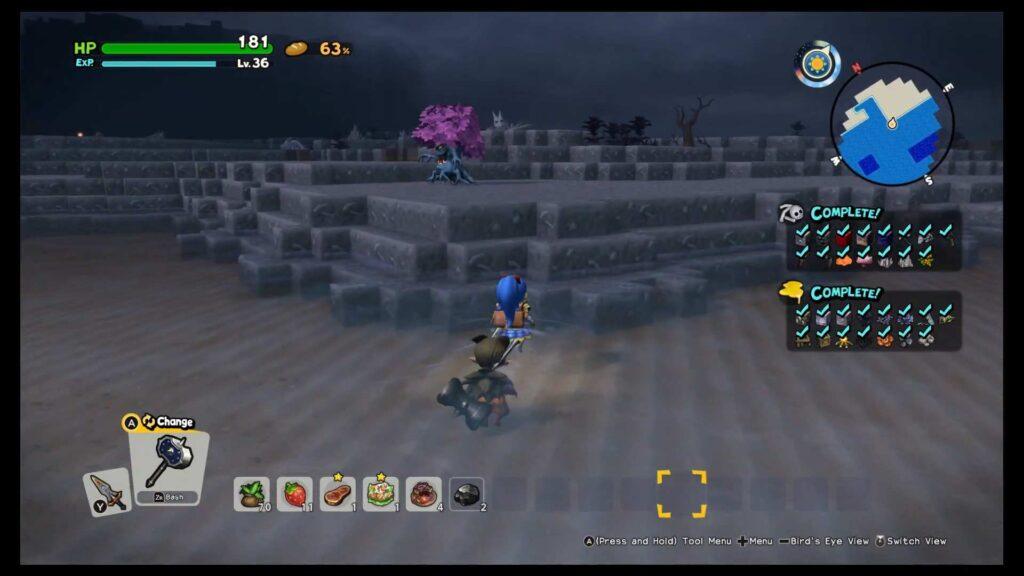 Dragon Quest Builder 2 Orichalcum Finding