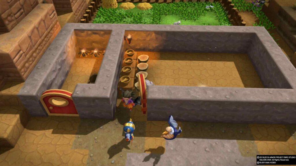 Dragon Quest Builders 2 Restaurant Look