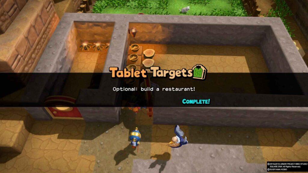 Dragon Quest Builders 2 Restaurant Process 2