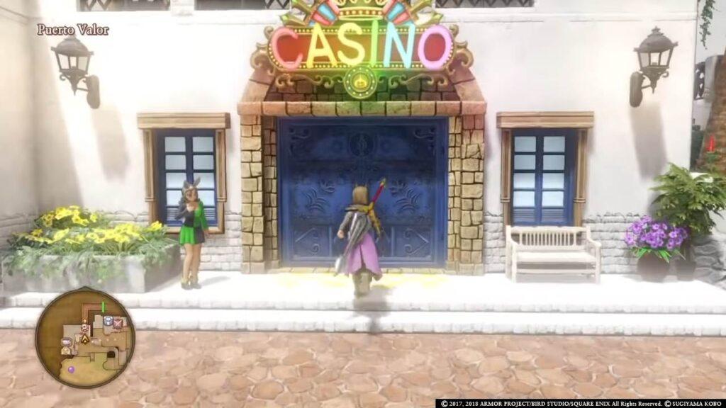 Dragon Quest Casino Appearance