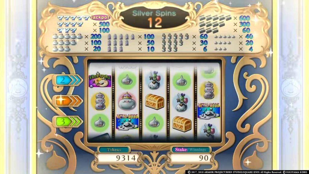 Dragon Quest Casino Slots