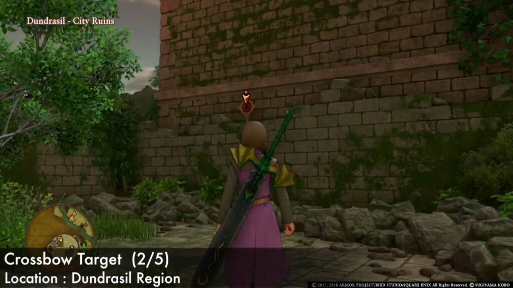 Dragon Quest XI Crossbow Dundrasil   Targets