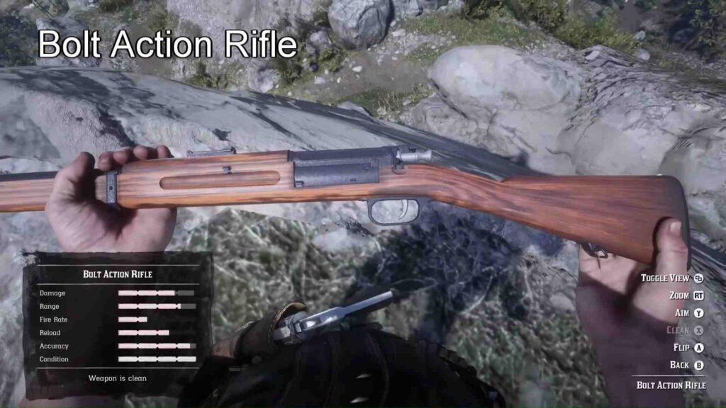 RDR2 Rare Rolling Block Rifle