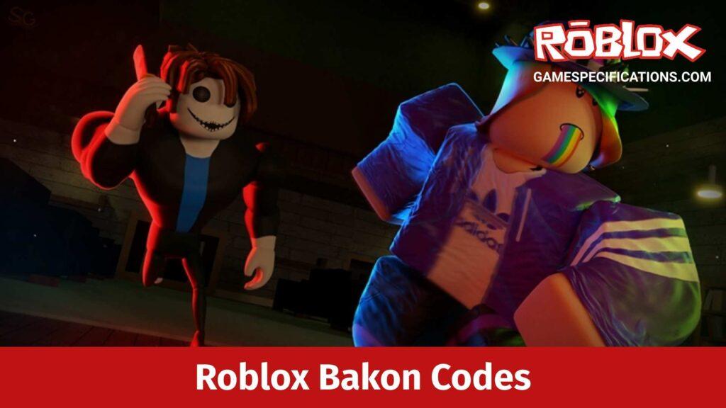 Roblox Bakon Codes