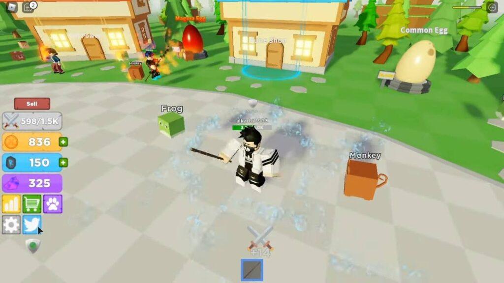 Roblox Boss Fighting Simulator Gameplay