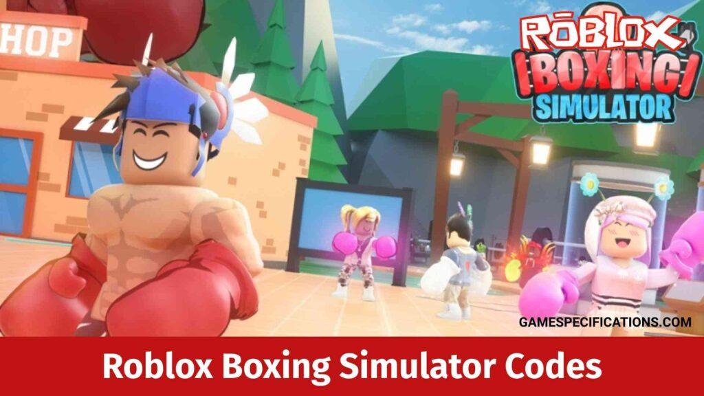 Roblox Boxing Simulator Codes