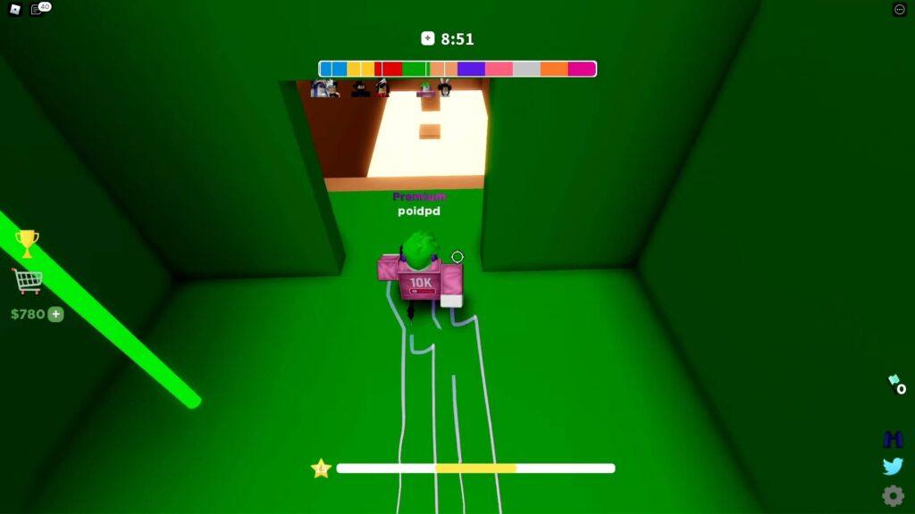 Roblox Corridor Of Hell Gameplay