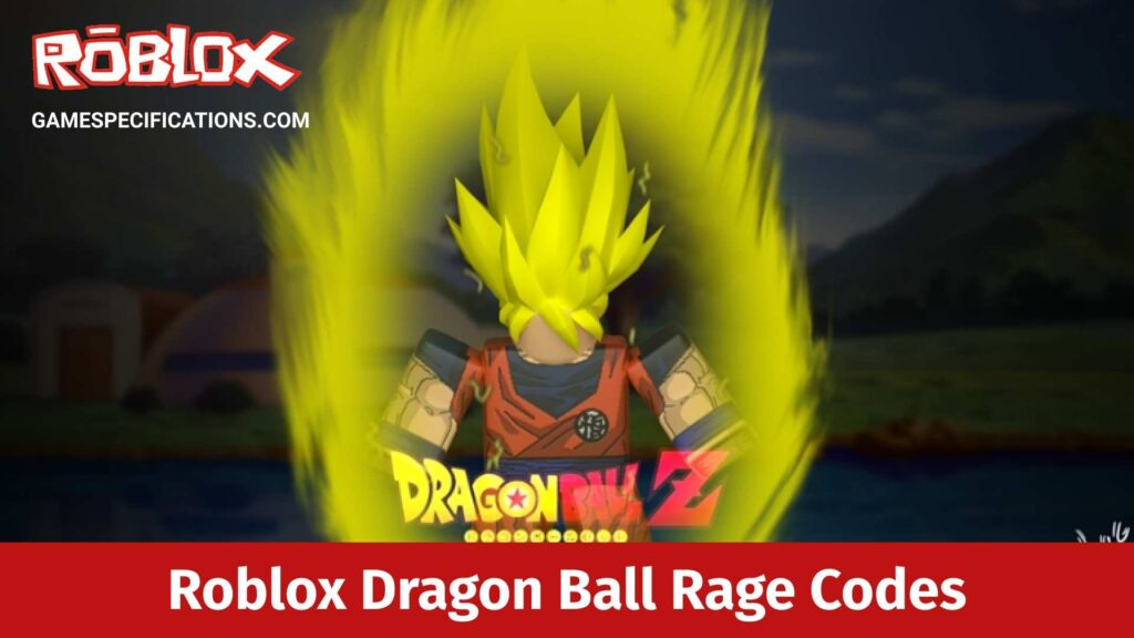 Roblox Dragon Ball Rage Codes