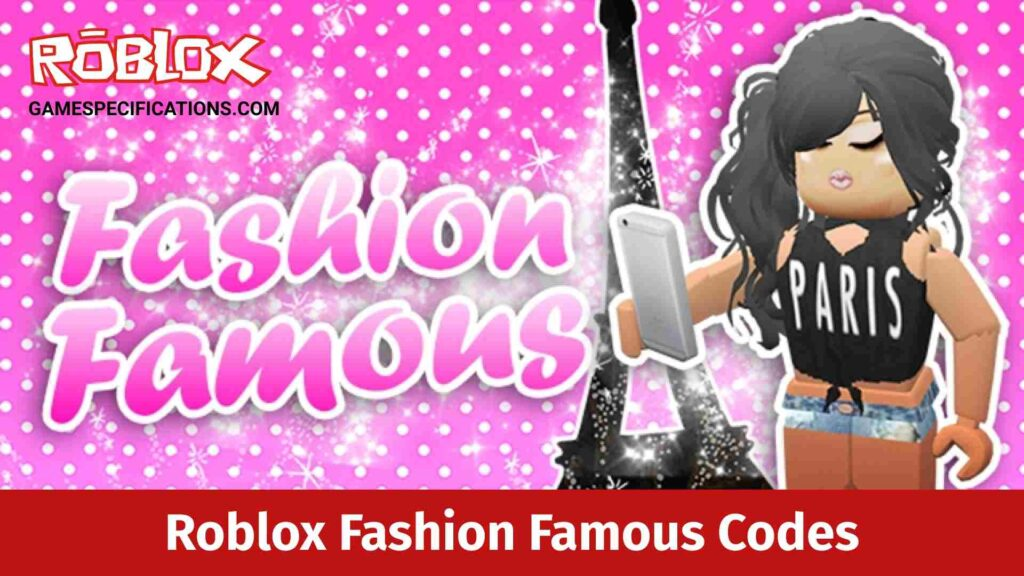 Roblox Fashion Famous Codes
