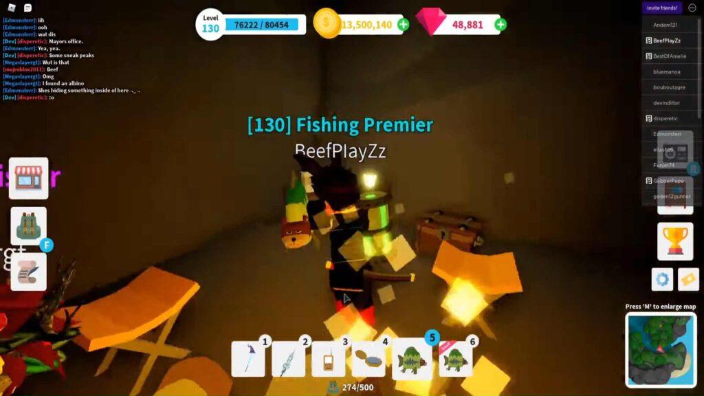 Roblox Fishing Simulator Gameplay