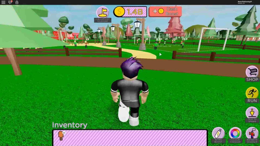 Roblox Ice Cream Van Simulator Gameplay