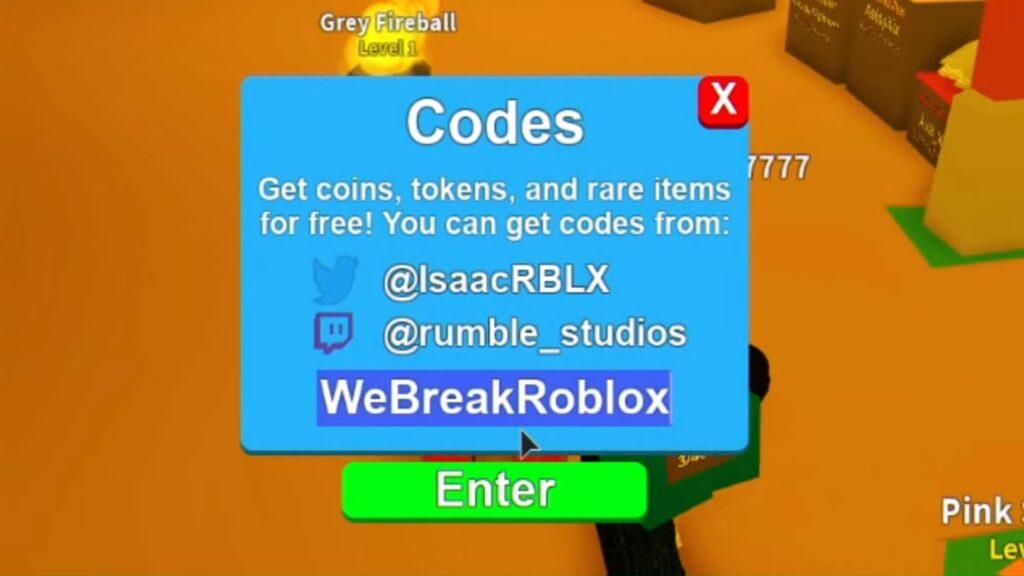 Roblox Mining Simulator Codes List