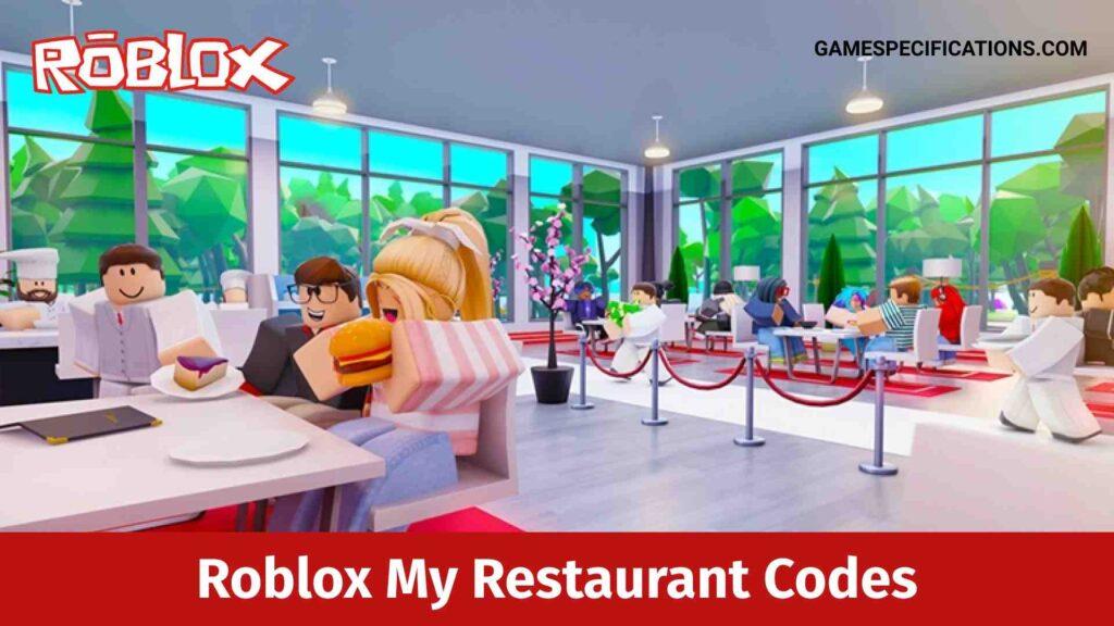 Roblox My Restaurant Codes
