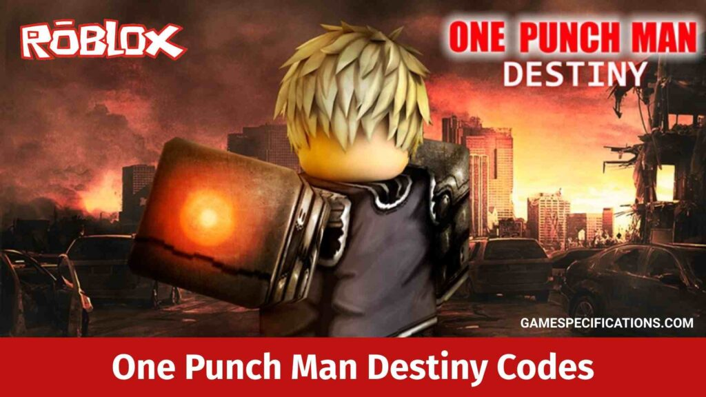 Roblox One Punch Man Destiny Codes