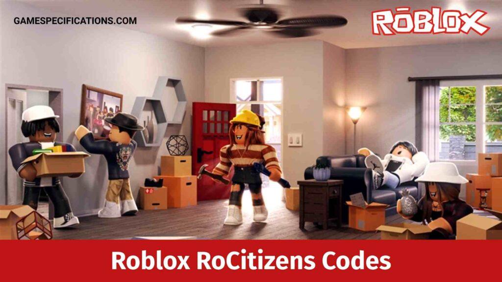 Roblox RoCitizens Codes