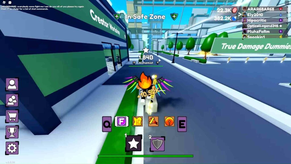 Roblox Sorcerer Fighting Simulator Gameplay