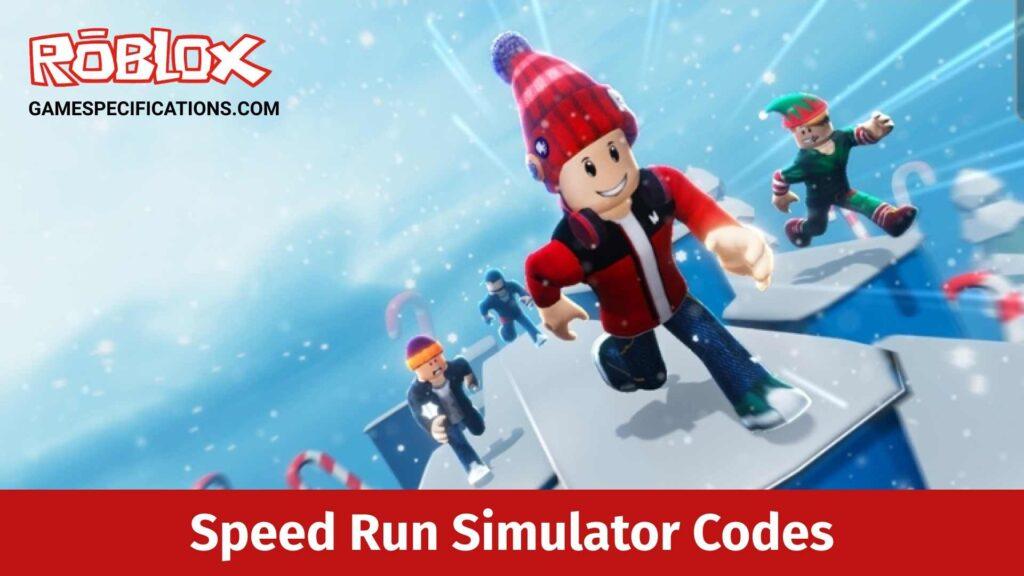 Roblox Speed Run Simulator Codes