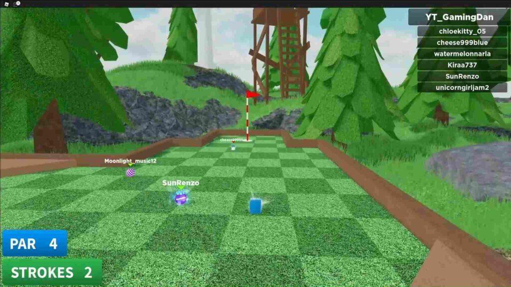 Roblox Super Golf Gameplay