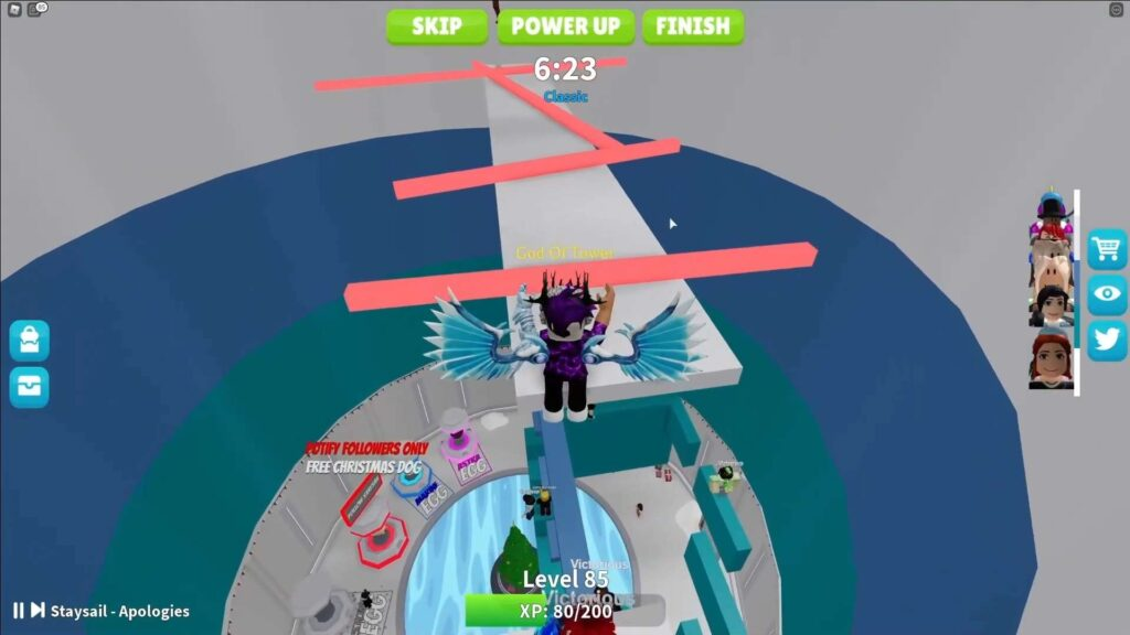 Roblox Tower of Easy Gameplay