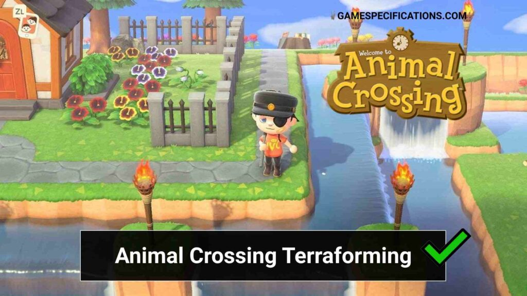 Animal Crossing Terraforming