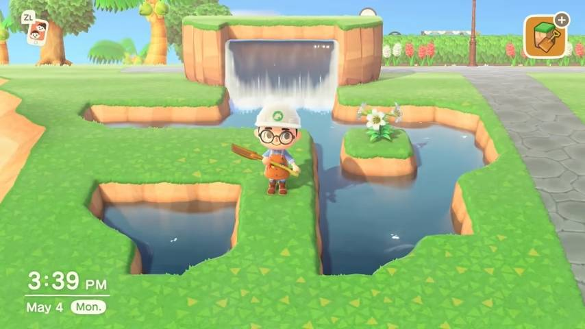 Animal Crossing Terraforming Execution