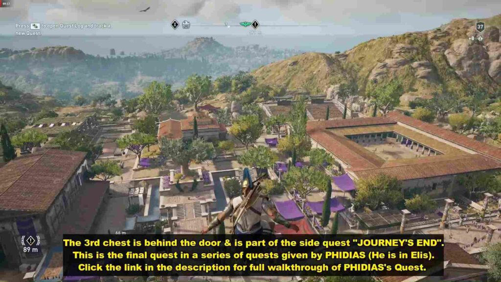 assassin's creed odyssey ancient stronghold side quest