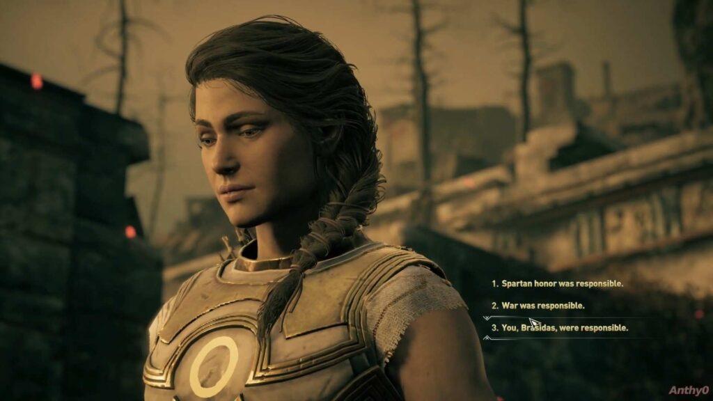 Assassin's Creed Odyssey Brasidas Choice