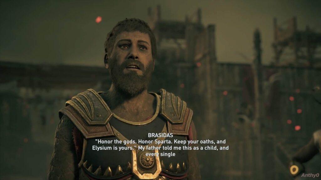 Assassin's Creed Odyssey Brasidas Look