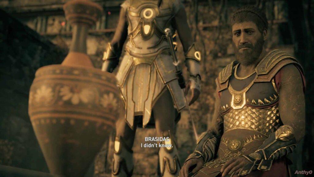Assassin's Creed Odyssey Brasidas Underworld