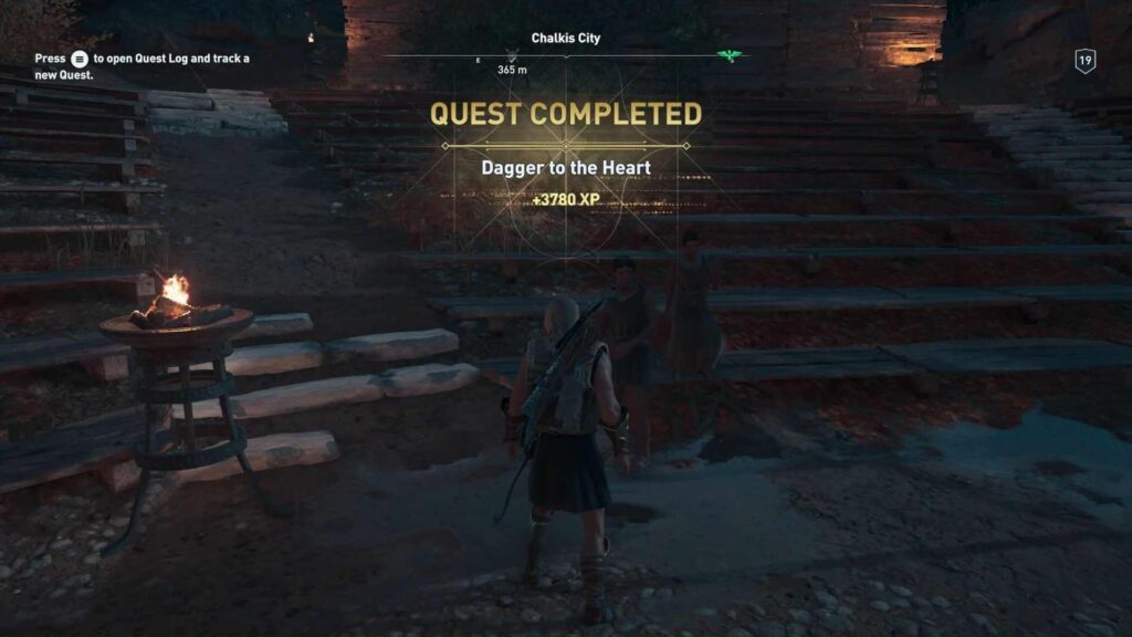 Assassin's Creed Odyssey Dagger to the Heart Quest