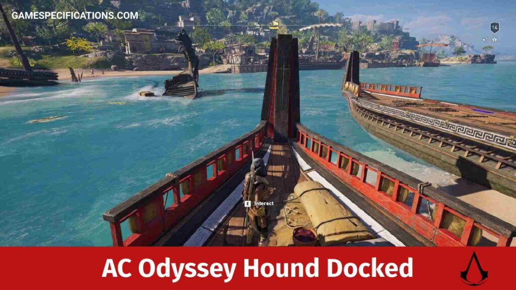 Assassin's Creed Odyssey Hound Docked